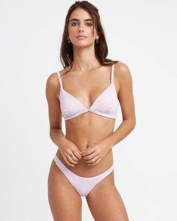 2 Solid Skimpy Bikini Bottom Purple XB01TRSS RVCA