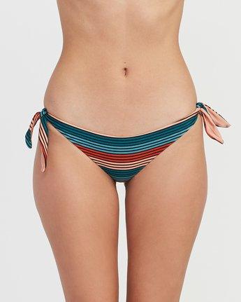 3 Frame Striped Cheeky Bikini Bottoms Multicolor XB16SRFC RVCA
