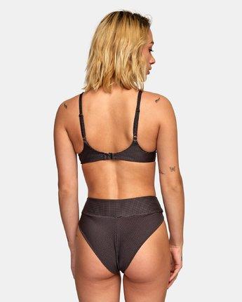 1 Venture High Rise French Bikini Bottoms Black XB19WRVH RVCA