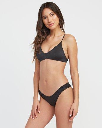 1 Solid Shimmer Isle Skimpy Bikini Bottom  XB21QRIS RVCA