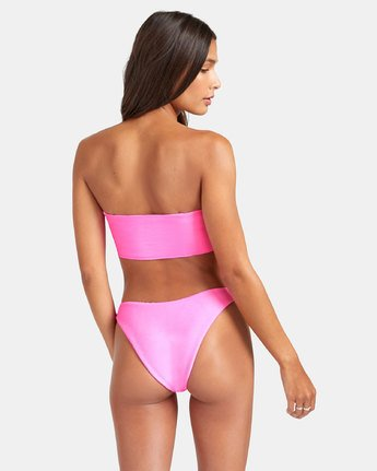 2 SALT WASH FRENCH BIKINI BOTTOM Pink XB243REF RVCA