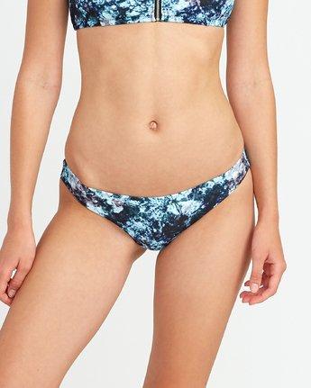 2 Tye Tye Cheeky Bikini Bottoms Grey XB42URTC RVCA