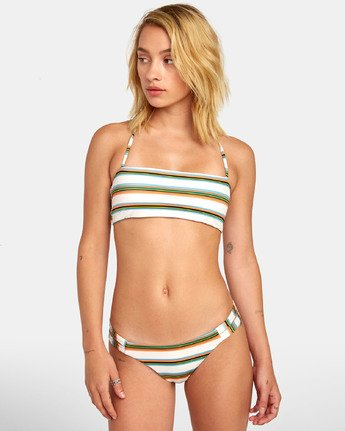 2 ISLE MEDIUM BIKINI BOTTOMS White XB431RIM RVCA