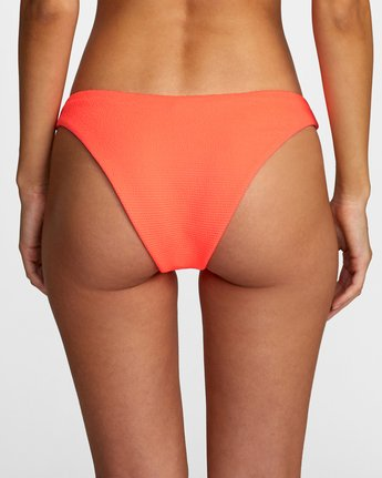 9 FLASH FRENCH BIKINI BOTTOM Pink XB492RFF RVCA