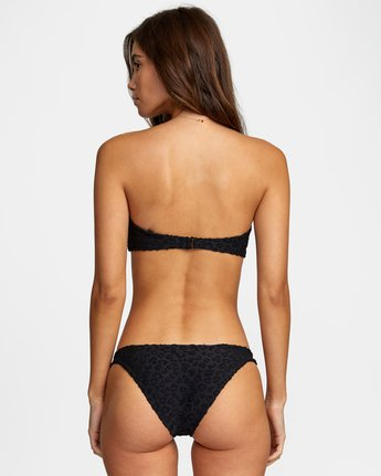 1 WoWild Medium Bikini Bottom Black XB542RWM RVCA