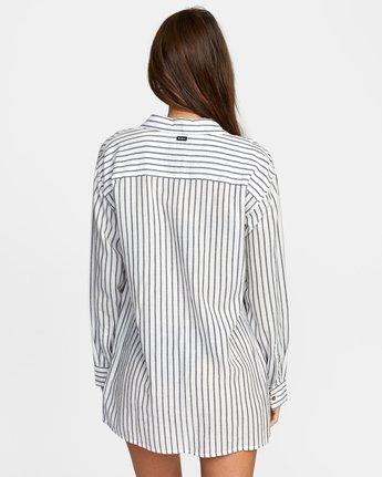 5 EDEN DRESS White XC013RED RVCA