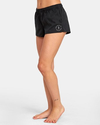 3 SYNCED UP BOARDSHORT Black XC021RSY RVCA