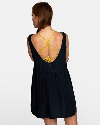 3 JORY DRESS Black XC052RJO RVCA
