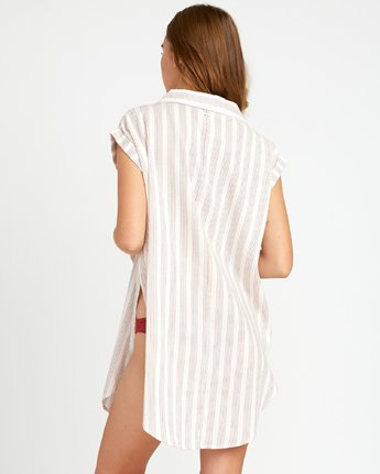 2 Sand Dollar Shirt Dress White XC05URSD RVCA