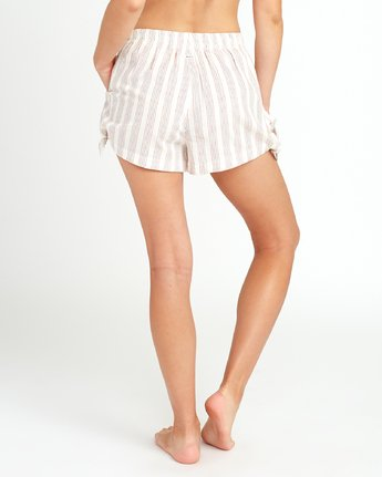 3 Sand Dollar High Waist Short White XC06URSS RVCA