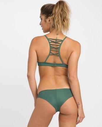 2 Solid Strappy Bralette Bikini Top  XT01NRSB RVCA