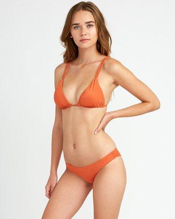 1 Solid Tri Bikini Top Yellow XT01URSO RVCA