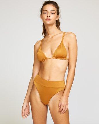 0 Solid Tri Bikini Top Red XT01URSO RVCA