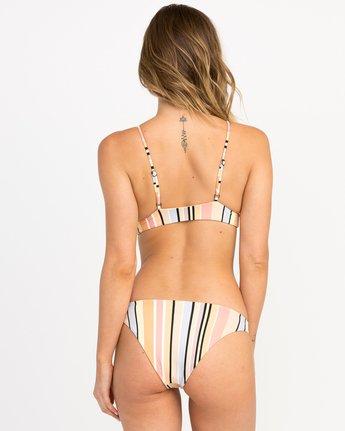 3 Horizon Reversible Stripe Triangle Bikini Top Orange XT05PRRT RVCA