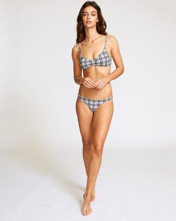 4 Uptown Bralette Bikini Top Black XT08VRUB RVCA