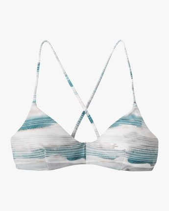 5 Washed Lines Crossback Bikini Top  XT12NRWC RVCA