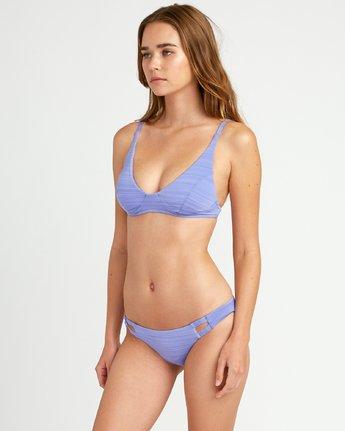 1 Rowan Bralette Bikini Top Blue XT18URRB RVCA