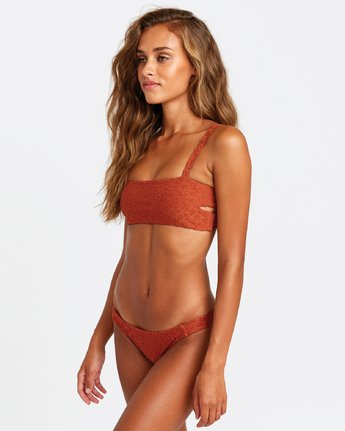 2 WILD BIKINI TOP Orange XT522RWH RVCA