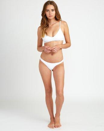 4 White Noise Bralette Bikini Top White XT53URWB RVCA