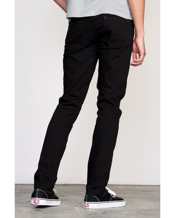 2 RVCA ROCKERS DENIM Black Z1PNRARVF6 RVCA