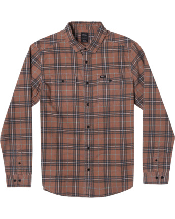 Panhandle - Short Sleeve Flannel Shirt for Men  Z1SHRVRVF1