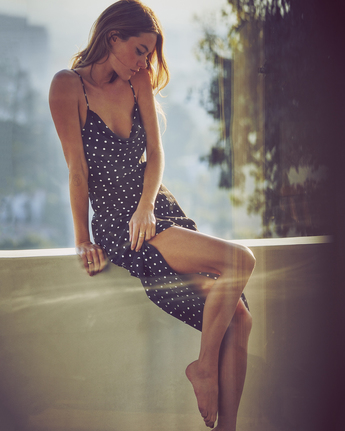 Camille Rowe Flutter Phoebe  - Midi Dress for Women  Z3DRRTRVF1