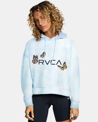 Big Rvca Venice - Cropped Hoodie for Women  Z3HORARVF1