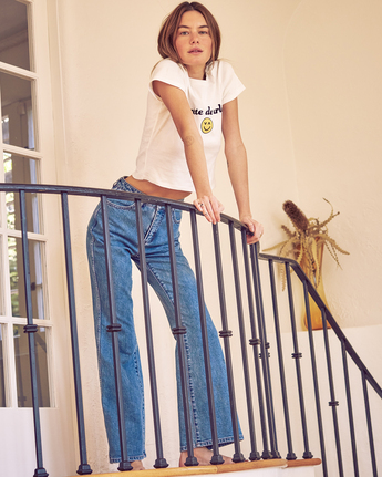 Camille Rowe Livin' - High Waisted Jeans for Women  Z3PNRBRVF1