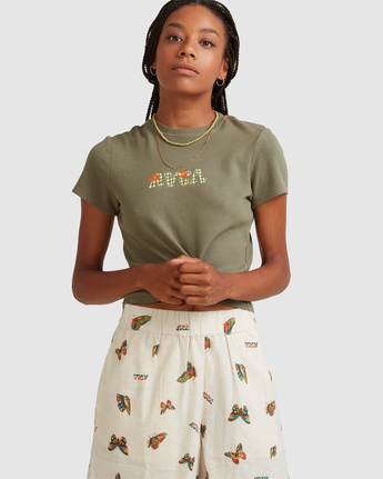 Melissa Grisancich RVCA Baby - T-Shirt for Women  Z3SSSJRVF1