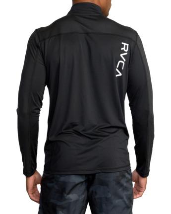 Sport Vent Zip - Long Sleeve Sports Top for Men  Z4KTMFRVF1