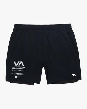 Yogger Train 2 In 1 - Performance Shorts for Men  Z4WKMMRVF1