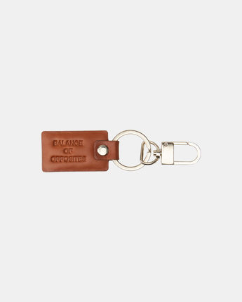 Chain Mail - Leather Key Ring for Men  Z5ESRMRVF1