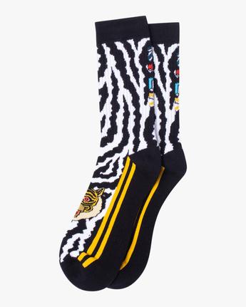 RVCA ANP 1 Pack - Crew Socks for Men  Z5SORDRVF1