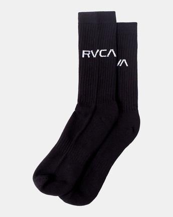 Logo 2 Pack- Crew Socks for Men  Z5SORERVF1