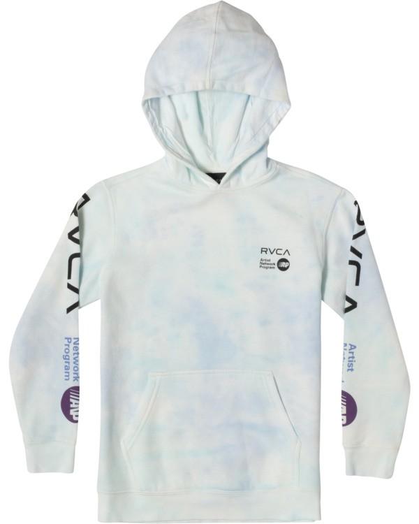 0 Boy's ANP Tie-Dye Pullover Hoodie  AVBSF00106 RVCA