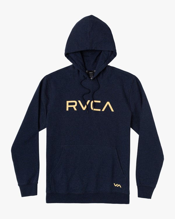 0 Boy's Big RVCA Pullover Hoodie Blue AVBSF00108 RVCA