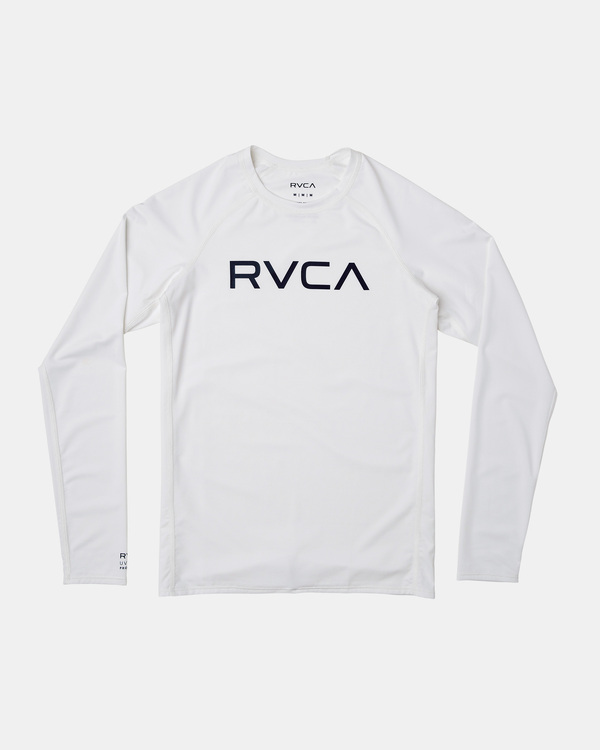 0 LS RASHGUARD White AVBWR00100 RVCA