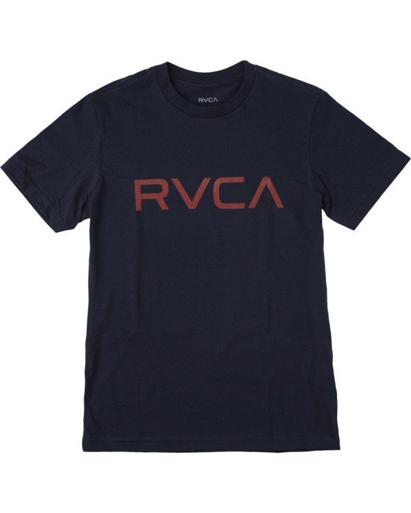 0 BOY'S BIG RVCA SHORT SLEEVE TEE Blue AVBZT00147 RVCA