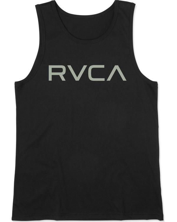 0 BOY'S BIG RVCA TANK TOP Black AVBZT00149 RVCA