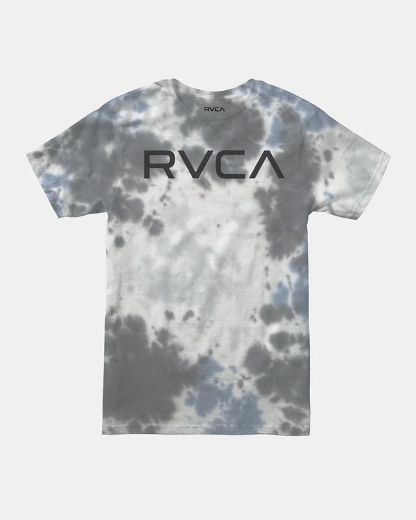 0 Boy's Big RVCA Tie-Dye Short Sleeve Tee  AVBZT00174 RVCA