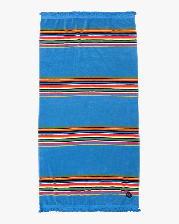 0 El Rosario Beach Towel Grey AVYAA00135 RVCA