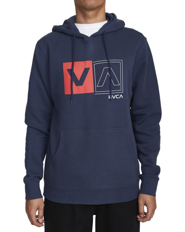 0 DIVIDED HOODIE  AVYFT00130 RVCA