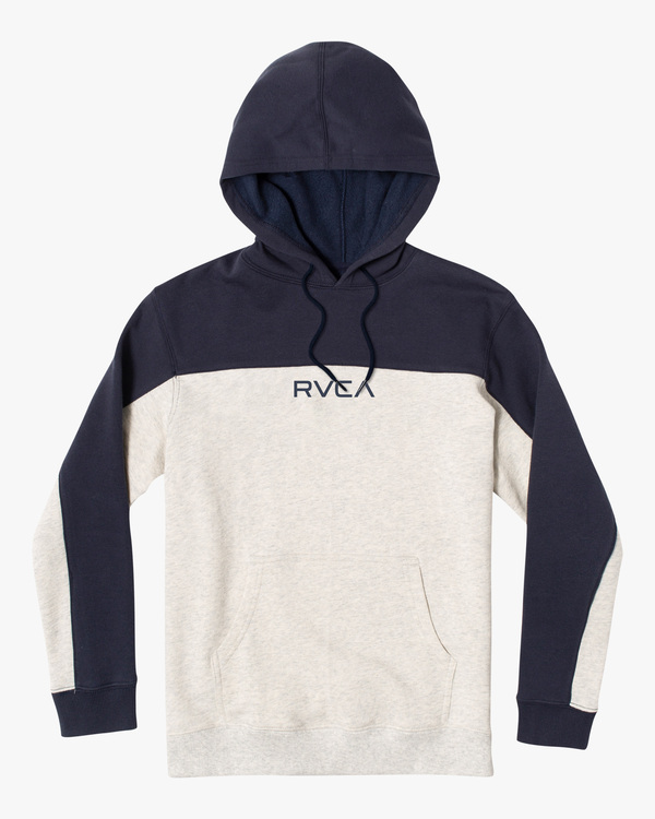 0 Bali Colorblock Pullover Hoodie White AVYFT00161 RVCA