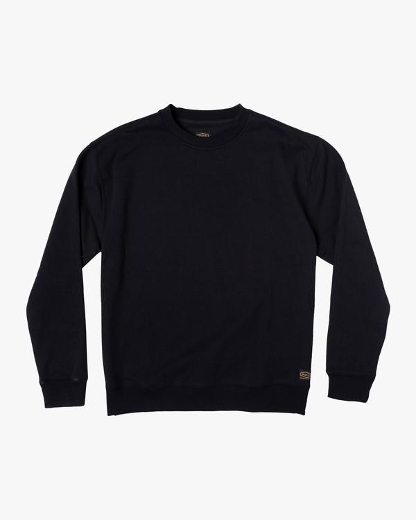 0 Recession | Day Shift Crewneck Sweatshirt Orange AVYFT00183 RVCA