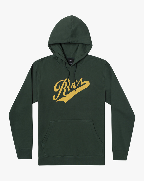 0 Pennant Pullover Hoodie Green AVYFT00199 RVCA