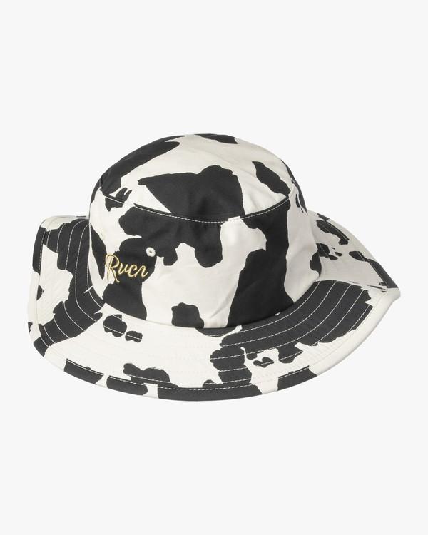 0 Location Bucket Hat Black AVYHA00191 RVCA