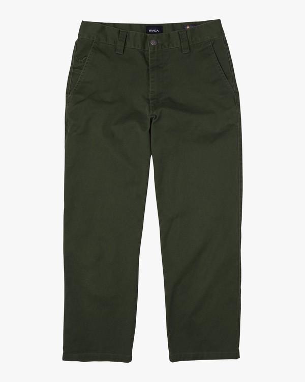 0 Kevin Spanky Long | Spanky Okapi Cropped Pants. Beige AVYNP00117 RVCA