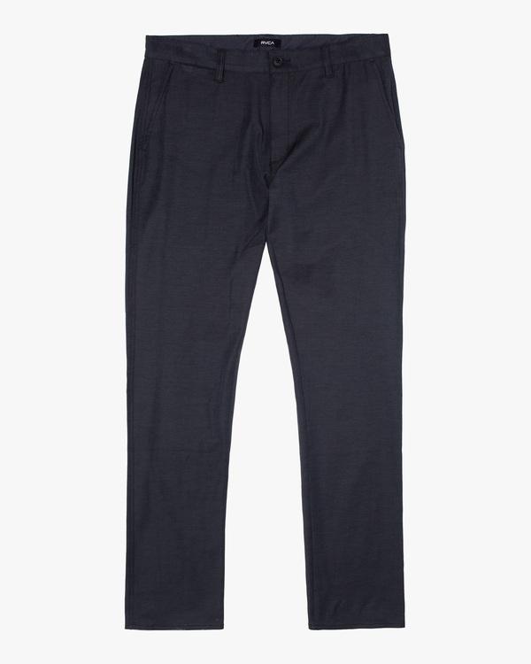 0 Daggers Tech Chino Pants Orange AVYNP00128 RVCA