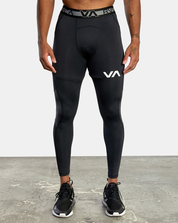 0 COMPRESSION PANT Black AVYWR00101 RVCA