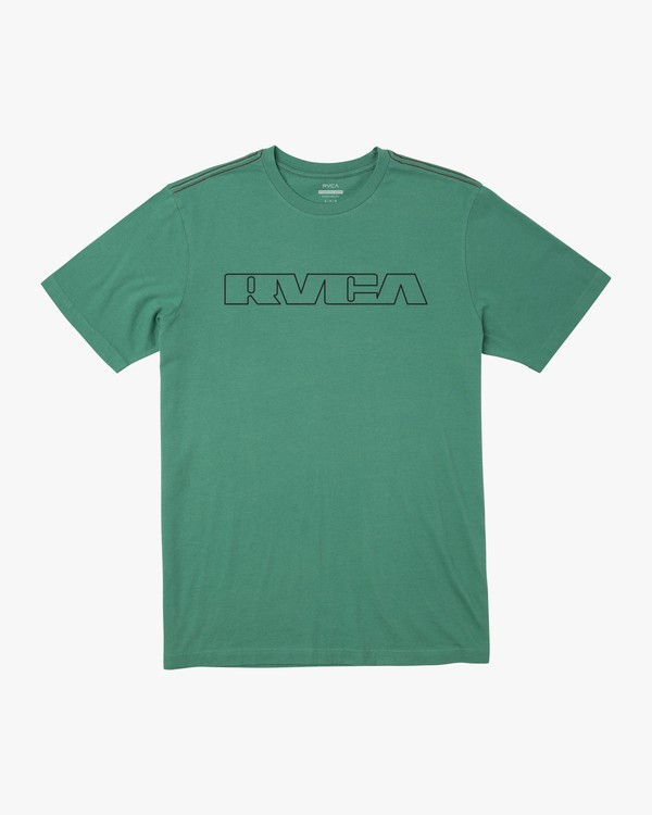0 TECHLINE SHORT SLEEVE TEE Green AVYZT00212 RVCA